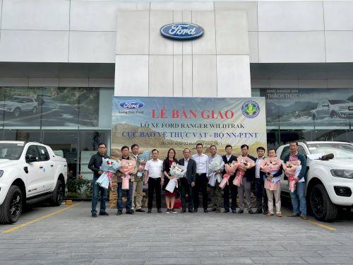 Lô xe Ford Ranger Cục bảo vệ thực vật
