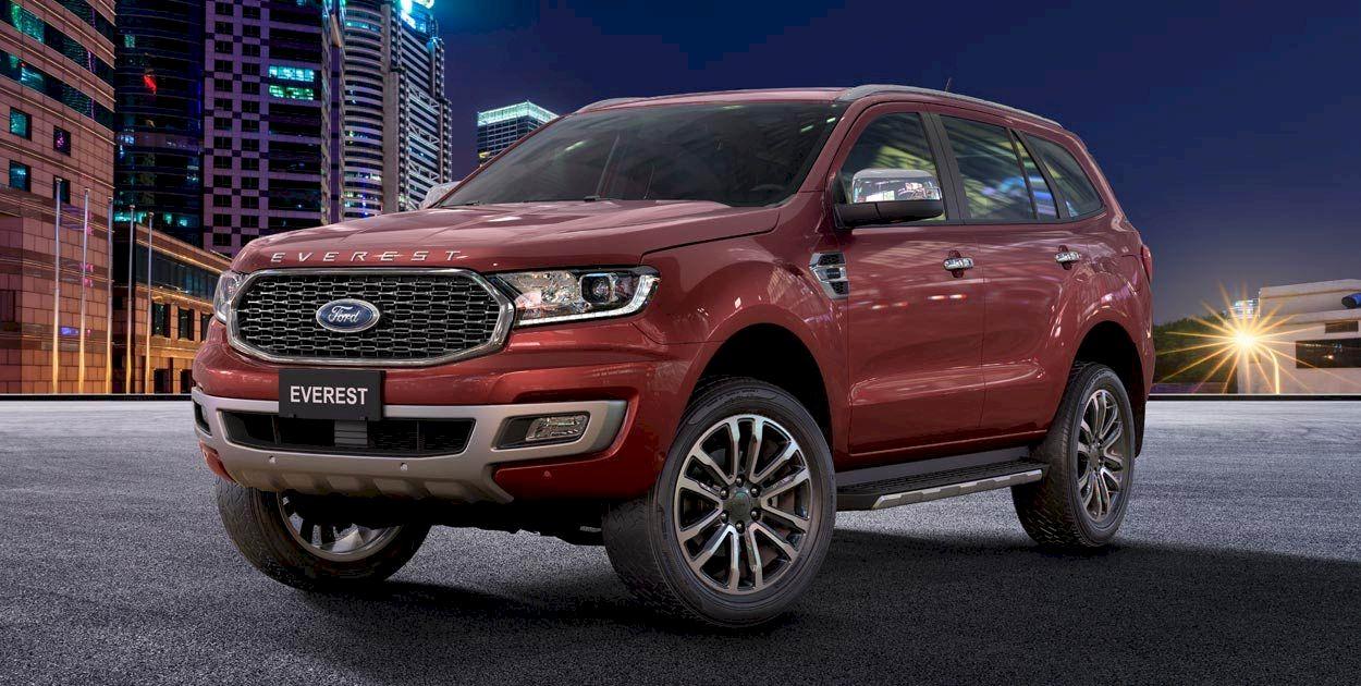 Ford Everest 2021 các phiên bản, thông số, giá bán, cập nhật mới nhất