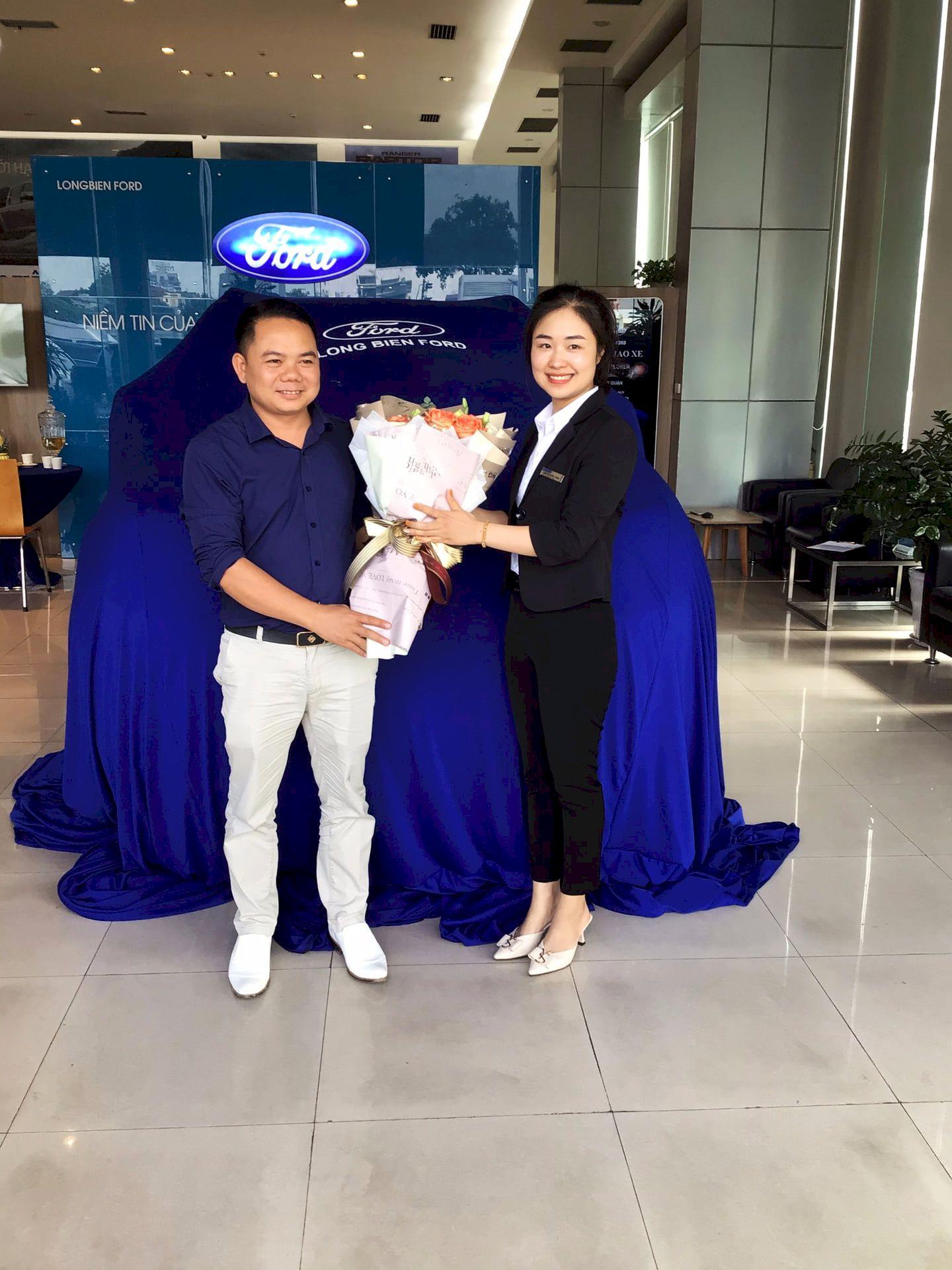 Ford Bắc Ninh tổ chức lễ bàn giao xe cho khách hàng tại Bắc Ninh năm 2021