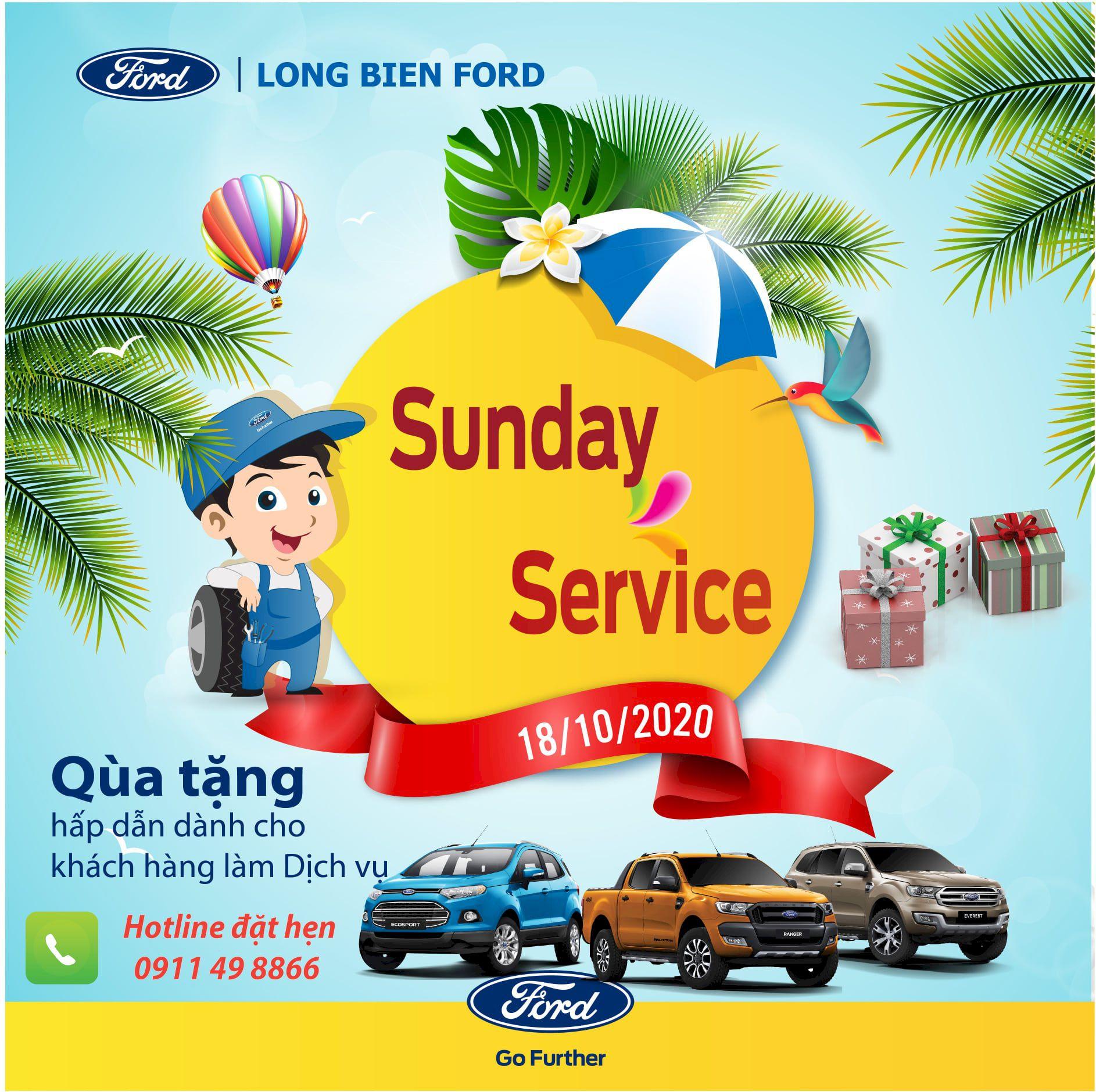 FORD SUNDAY SERVICE THÁNG 10 (18/10/2020)