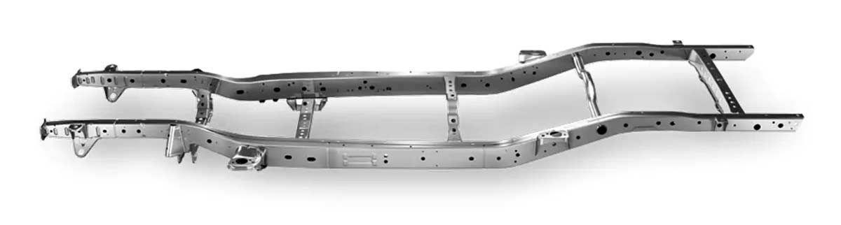 Hệ thống khung gầm bằng thép chịu lực siêu cứng kết hợp cùng hệ thống treo được cải tiến giúp tăng cường khả năng lái, vận hành, giúp Ranger sẵn sàng đương đầu với mọi thử thách, đồng thời cải thiện đáng kể độ ồn trong xe khi đi trên đường.