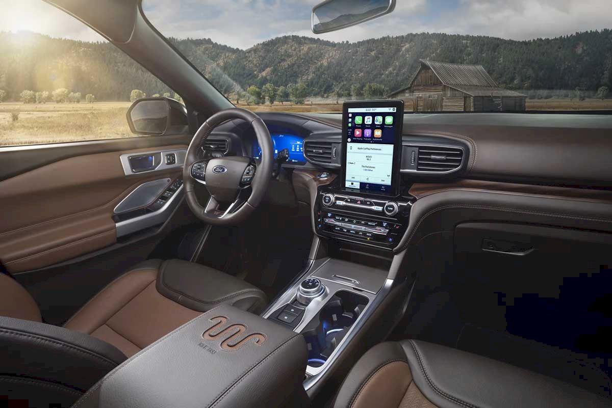 Nội thất Ford Explorer 2021