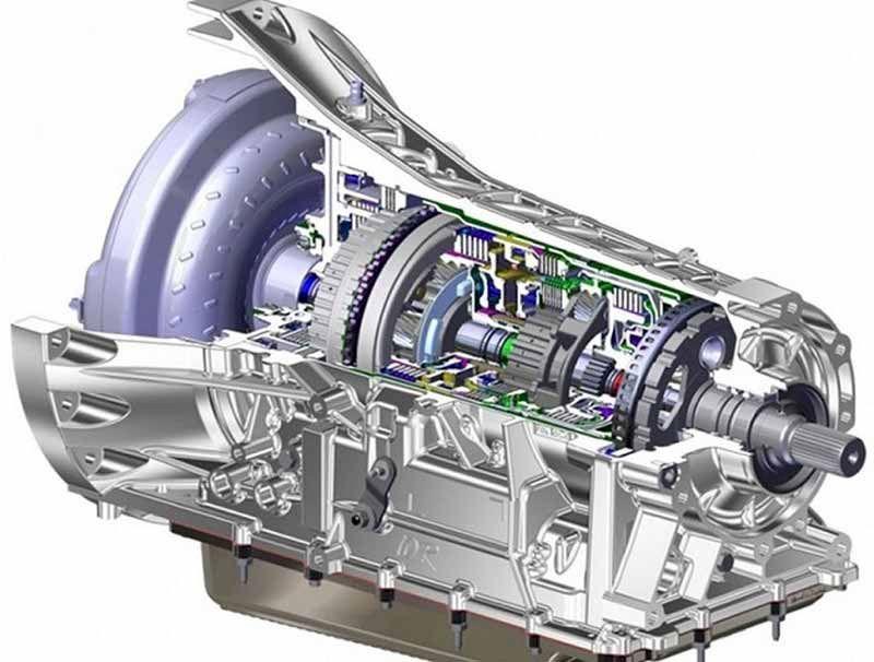 Hộp số tự động 10 cấp của Ford Everest