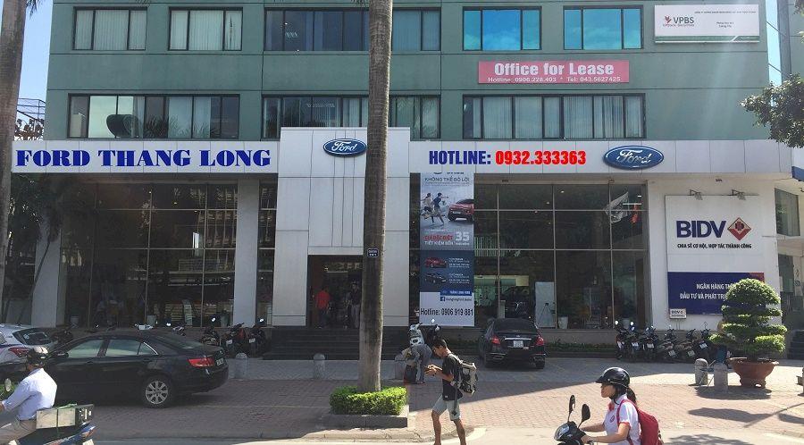 Giới thiệu Thăng Long Ford Đại lý 3S Chính hãng ủy quyền của Ford Việt Nam