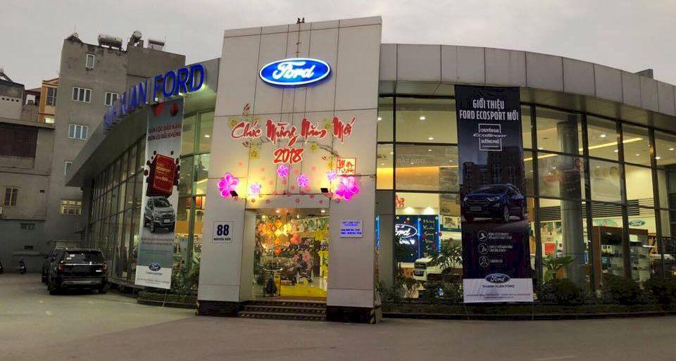 Giới thiệu Thanh Xuân Ford đại lý 3s Ủy quyền của Ford Việt Nam