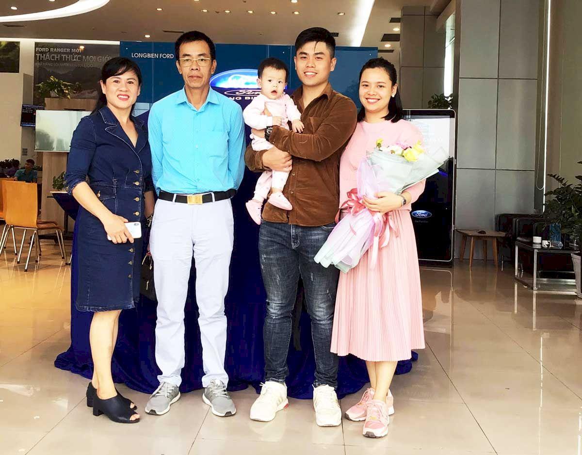 Lễ bàn giao xe cho khách hàng tại TP. Thái Nguyên