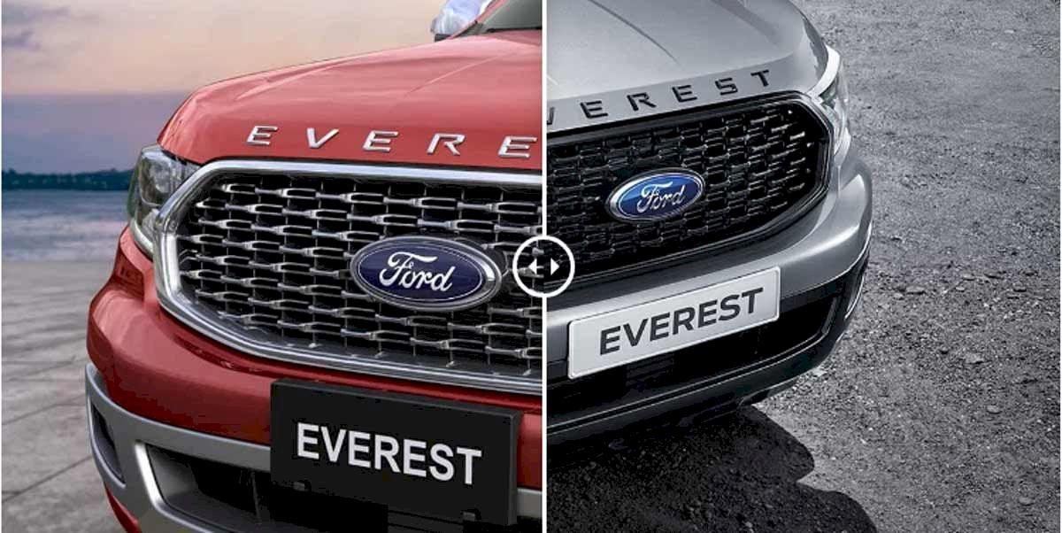 So sánh các dòng xe Ford Everest: Giá bán, thông số kỹ thuật, hình ảnh
