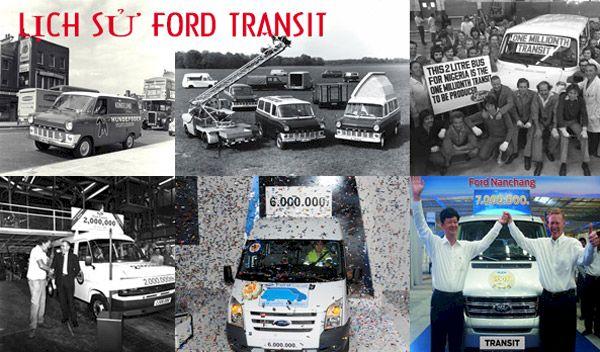 Lịch sử Ford Transit và các dấu mốc lịch sử và những giải thưởng danh giá