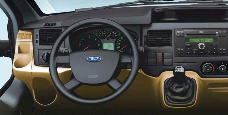 Khoang lái Ford Transit