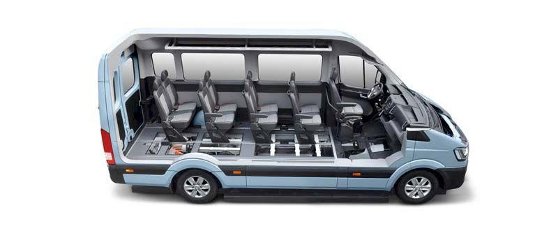 Nội thất Hyundai Solati