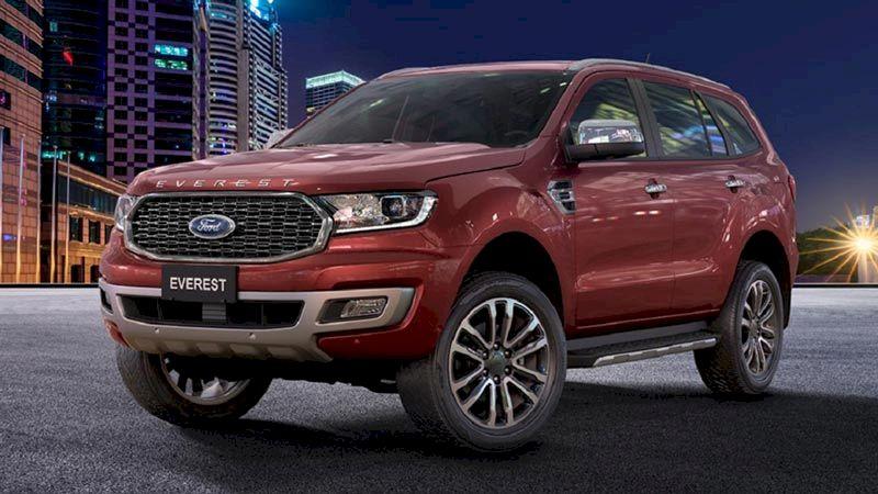 Ngoại thất Ford Everest 2021