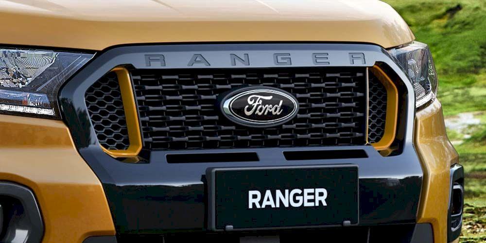 Ford ranger lưới tản nhiệt