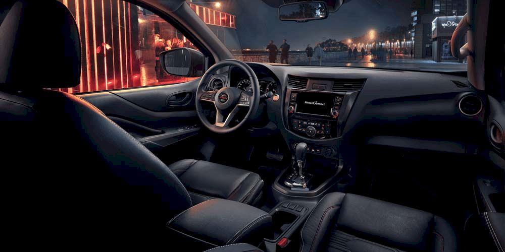 Nissan navara 2021 nội thất
