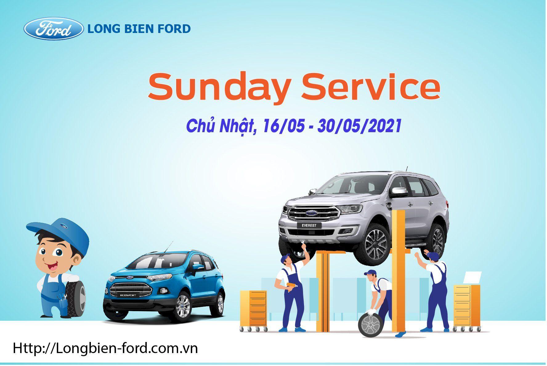 SUNDAY SERVICE THÁNG 5/2021