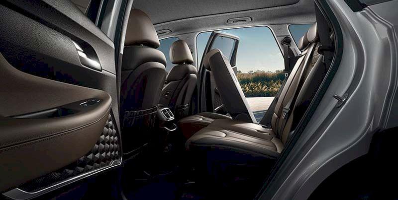 Ghế ngồi Hyundai Santefe 2021