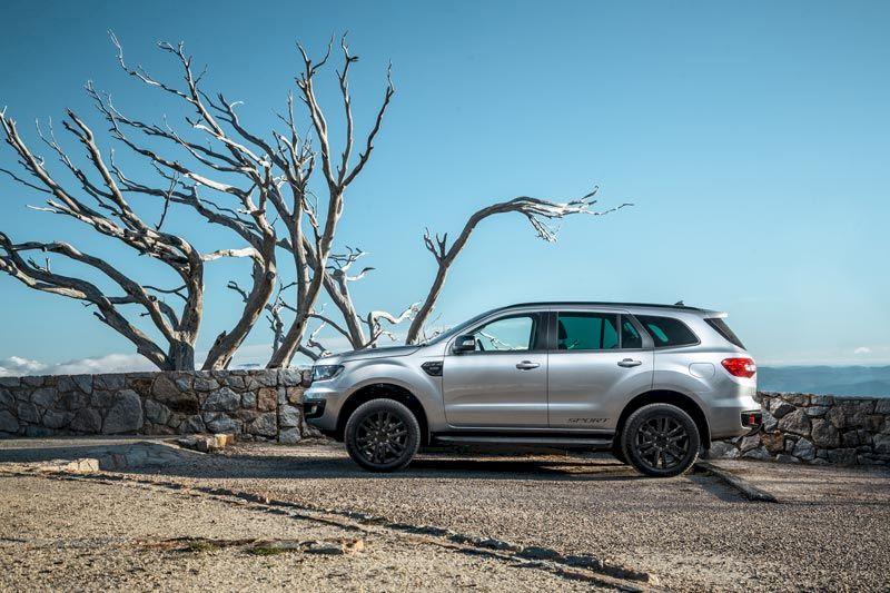 Ford Everest 2021khuyến mại, ưu đãi các phiên bản trong tháng 07/2021