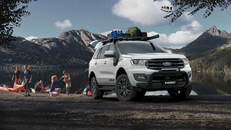 Bảng giá xe Ford Everest tháng 07/2021