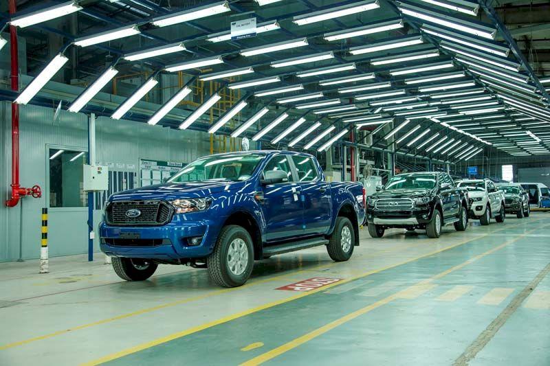 Ford Ranger CKD: Phiên bản lắp ráp trong nước bao giờ có xe?