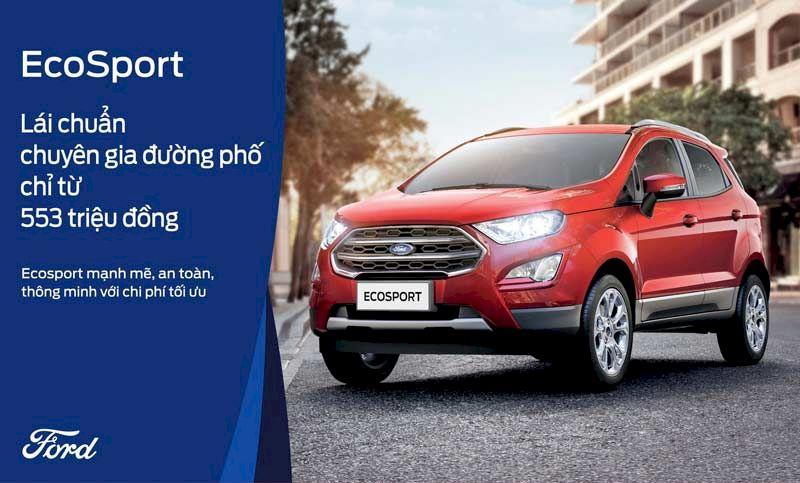 Ford Ecosport 2021 Chuyên gia Đường phố đang được ưu đãi lớn