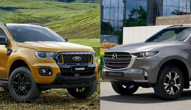 Chọn Ford Ranger 'nội' hay Mazda BT-50 mới?