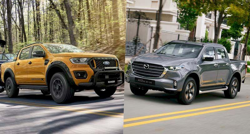 Động cơ và vận hành Ford Ranger và Mazda Bt 50