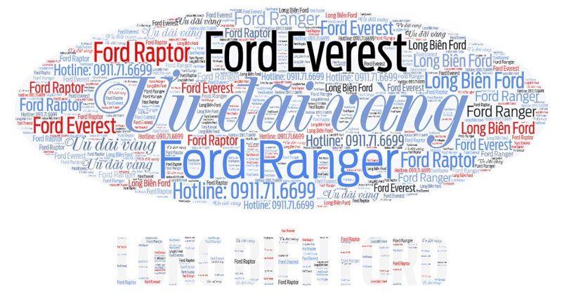 Tháng khuyến mại vàng - Long Biên Ford ưu đãi lớn tất các các dòng xe trong tháng 09/2021