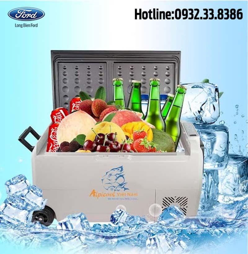 Tủ lạnh mini Alpicool cho ô tô : Thông số, giá bán, ưu đãi, đánh giá