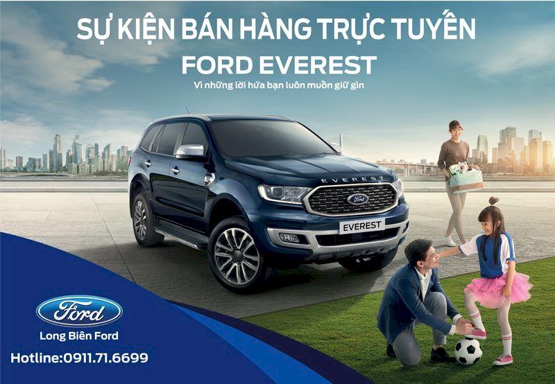 Sự kiện Bán hàng trực tuyến - Ford Everest